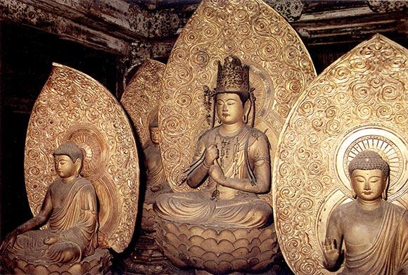 I Cinque Buddha