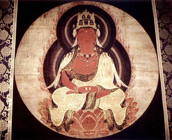 il Buddha celeste Amida