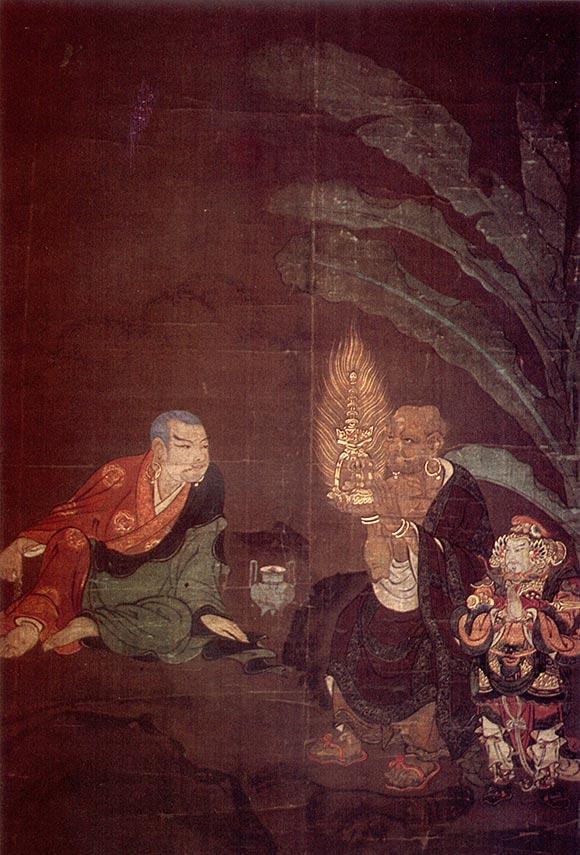 Monte Kōya: gruppi di arhat
