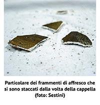Cappella Sant'Antonino, pezzi di affreschi